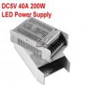 220V a 5v 40A /200W Fuente de alimentación conmutado