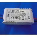 Driver para  6- 9 x 3W LED (Transformador AC-DC) para LED