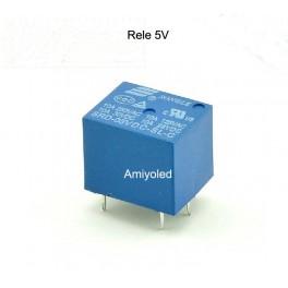 Relé 5V tipo PCB SDR 5VDC montaje superficie un contacto