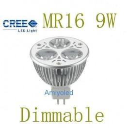 Bombilla LED MR16 (dicoricas) dimmable,También conocidas como ojo de (BUEY),