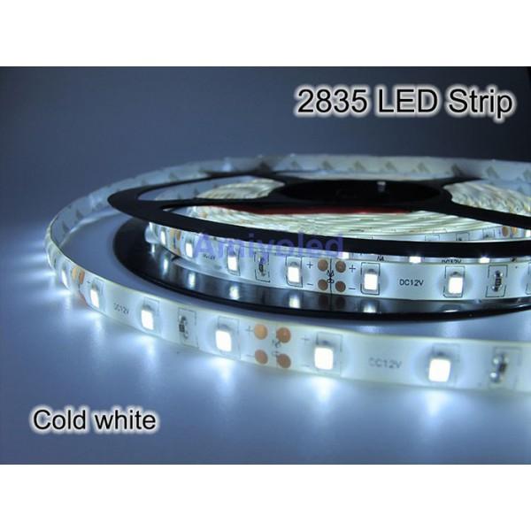 Tira de led 2835 5m 300 led color blanco frio ip65 12v - Tiras de led precios ...
