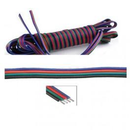 Cable RGB de 4 hilos para tiras RGB