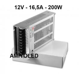 220V a 12v 16,5A /200W Fuente de alimentación conmutado