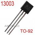 MJE13003 1.5A 1.5 Amp 400V NPN Power Transistor TO-92