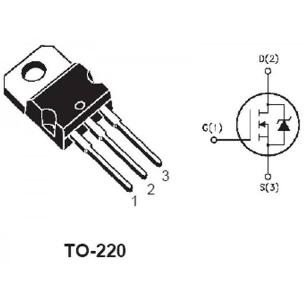 irf740 transistor n