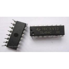 TL494CN TL494 PWM Power Supply Controllers TI 16DIP