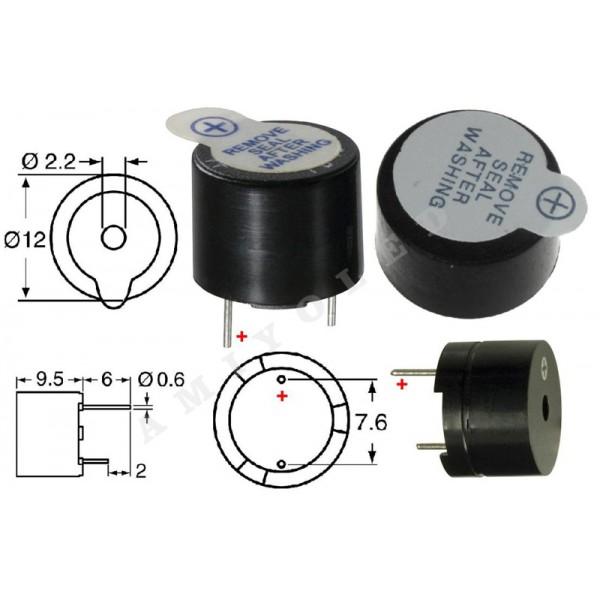 Circuito Zumbador Piezoelectrico : Práctica zumbador activo condicionales y diagramas de