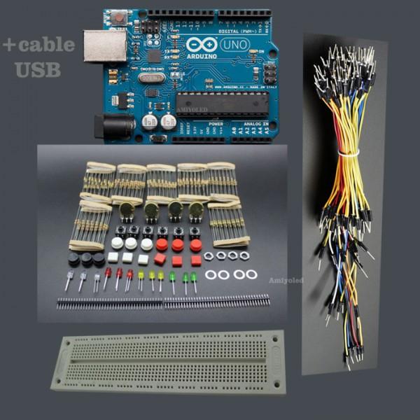 Kit de componentes arduino experimentos con en