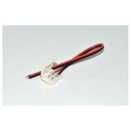 Conector de 2pin para tira monocolor con cable 8mm (3528)