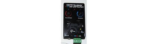 Controladores LED RGB para instrumentos percuscion