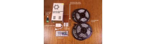 Kits de tiras de LED RGB 5050