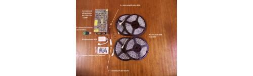 Kits de tiras de LED RGB 3528