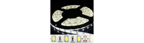 Tira 5630 con 300 LED unicolor 12v