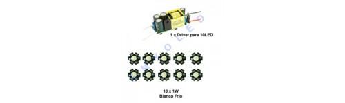 Kit driver con LEDs