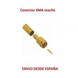 Conector SMA macho Grimpable para cable H155 / RF240/TRI-LAN 240