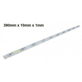 39cm PCB impreso de aluminio, circuito de impreso para 10 LEDs 1W-3W