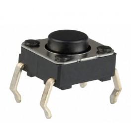 Pulsador miniatura para PCB 6x6x5mm