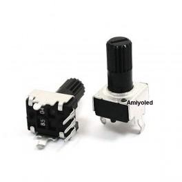 Potenciómetro 5k ohm modelo RV09, B502