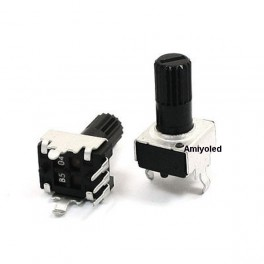 Potenciómetro 100k ohm modelo RV09 B104