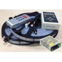 kit 10m Magik Tira LED 5050 RGB 150LED impermeable con controlador y mando + Fuente de alimentación 12v