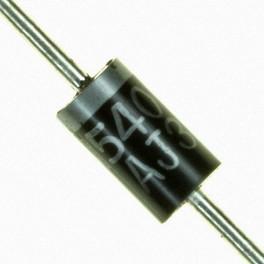 Diodo 1N5408 Capsula DO-27 3A 1000V