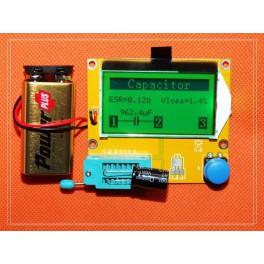 Medidor de ESR LCR - T4 , comprobador multicomponentes
