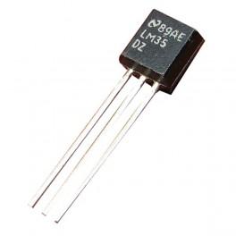 LM35 Sensor de temperatura analógico, termómetro de precisión, Arduino, proyectos electrónicos.
