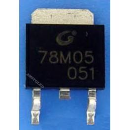 78M05 - Regulador Voltaje de 5V 0,5A SMD DPAK, Arduino, proyectos