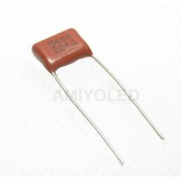 CBB 0,22uF 224J 400v metalizado polipropileno FILLM condensador P10mm