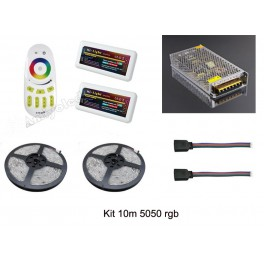 Kit 10m 5050RGB IP20 con equipo inalambrico Mi-Light
