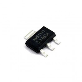 AMS1117- LM1117- AMS1117 3.3V 1A Voltage Regulator SOT-223