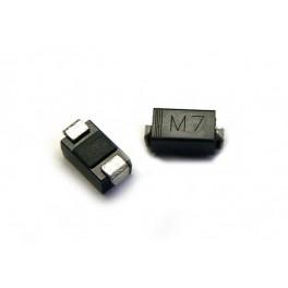 5 x M7 (1N4007) Diodo Rectificador Rectifier Diode DO-214AC SMD