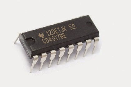 Circuito Integrado : Circuito integrado cd cd be dip contador divisor decimal