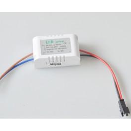 Driver para 2 - 4 x 3W LED (Transformador AC-DC) para LED