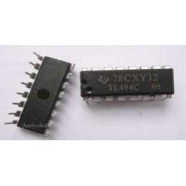 TL494CN TL494 PWM Power Supply Controllers TI 16DIP
