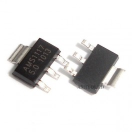 AMS1117- LM1117- AMS1117 5V 1A Voltage Regulator SOT-223