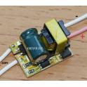 Driver para 3 x 1W LED (Transformador AC-DC)