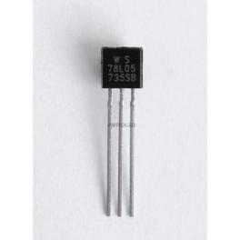 78L05 - Regulador Voltaje de 5V 0,1A TO-92, Arduino, proyectos