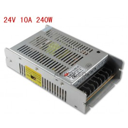 220V a 24V 10A /240W Fuente de alimentación conmutado