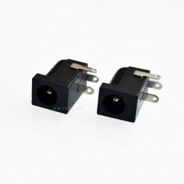Conector hembra DC 5,5mm x 2,1mm (Arduino, prototipos, PCB)