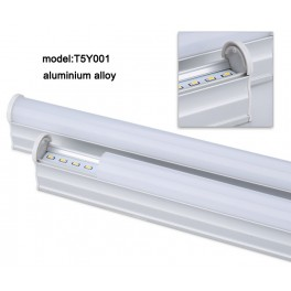 57cm Luminaria Tira rigida con led 2835 en perfil de aluminio, funciona con 220V