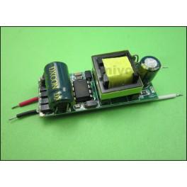 Driver para 4 -6 x 3W LED (Transformador AC-DC)