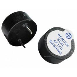 Zumbador activo 5v buzzer 12mm magnetico continuo alarma, proyectos, arduino