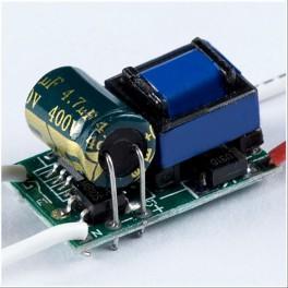 Driver para 1 - 3 * 1W LED (Transformador AC-DC)