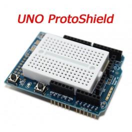 Placa prototipo ProtoShield con Mini Breadboard para Arduino