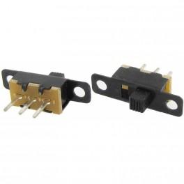 Mini interruptor deslizante vertical OFF/ON 11 x 6 x 5