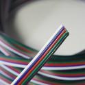 Cable RGBW de 5 hilos para tiras RGBW/WW