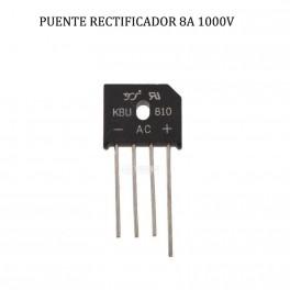 KBu-810 Puente rectificador monofásico 8A, 1000V, Bridge Rectifier