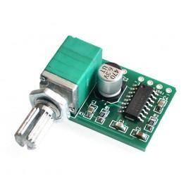 Módulo Mini Amplificador Digital 2 * 3w Pam8403 Clase D potenciómetro con interruptor