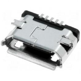 Conector SMD micro USB 5 pin hembra